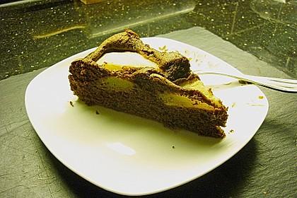Birnen - Schokolade - Kuchen 106