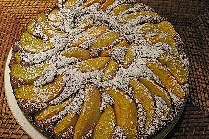 Birnen - Schokolade - Kuchen 63