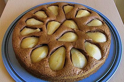 Birnen - Schokolade - Kuchen 43