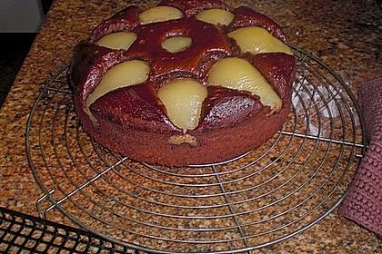 Birnen - Schokolade - Kuchen 83