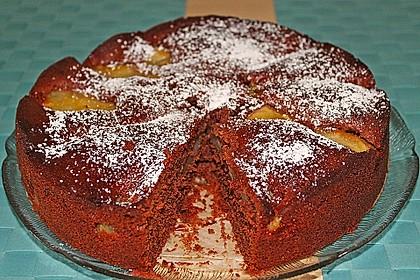 Birnen - Schokolade - Kuchen 51