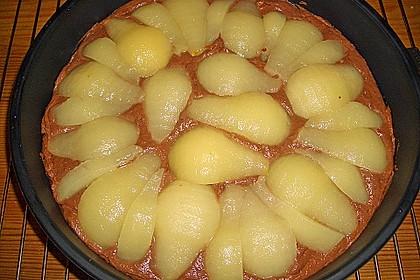Birnen - Schokolade - Kuchen 65