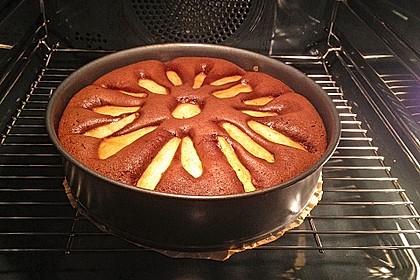 Birnen - Schokolade - Kuchen 17