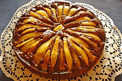 Birnen - Schokolade - Kuchen 36