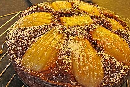 Birnen - Schokolade - Kuchen 25
