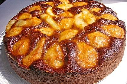 Birnen - Schokolade - Kuchen 60