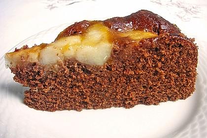 Birnen - Schokolade - Kuchen 22