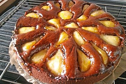 Birnen - Schokolade - Kuchen 88