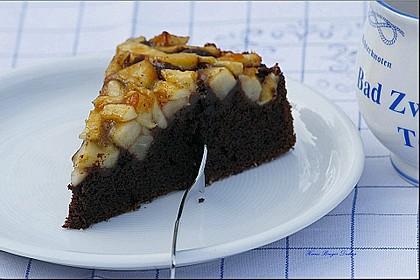 Birnen - Schokolade - Kuchen 16