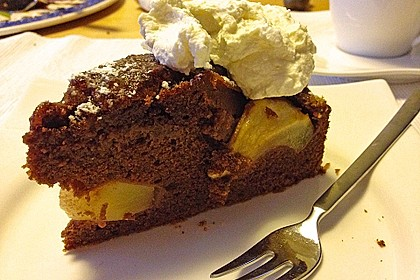 Birnen - Schokolade - Kuchen 104