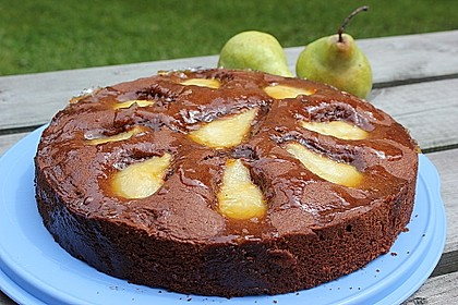 Birnen - Schokolade - Kuchen 18