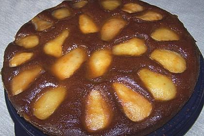Birnen - Schokolade - Kuchen 46