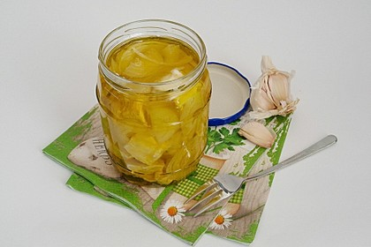 Eingelegter Knoblauch - Camembert 8