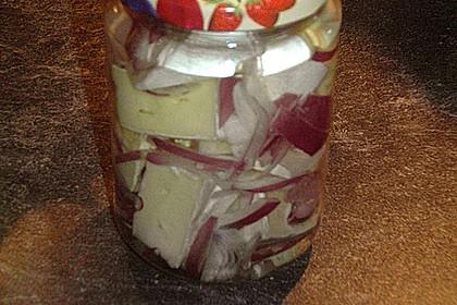 Eingelegter Knoblauch - Camembert 4