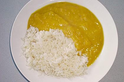 Sahniger Kürbis  - Bananen - Reis - Eintopf 3