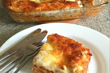 Lasagne alla Bolognese mit Béchamelsoße 4