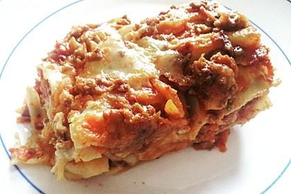 Lasagne alla Bolognese mit Béchamelsoße 2