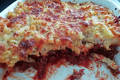 Lasagne alla Bolognese mit Béchamelsoße 8