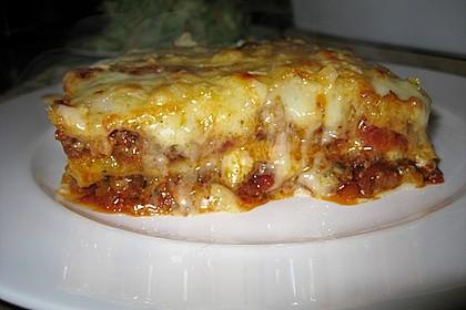 Lasagne alla Bolognese mit Béchamelsoße 1