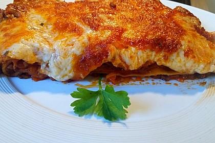 Lasagne alla Bolognese mit Béchamelsoße 18