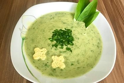 Bärlauch-Kartoffel-Suppe (Bild)
