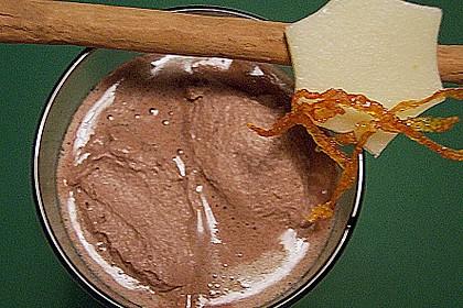 Weiße Trinkschokolade mit Kakaosahne 1