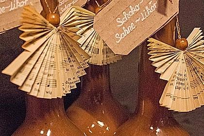 Weihnachtlicher Schoko - Sahne - Likör 1