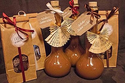 Weihnachtlicher Schoko - Sahne - Likör