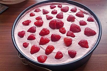 Erdbeer - Quark - Kuchen (Bild)