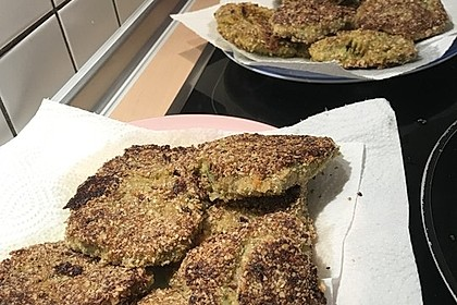 Kartoffel - Brokkoli - Bratling
