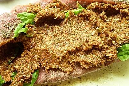 Gefüllte Schweinefilets mit Parmaschinken 73