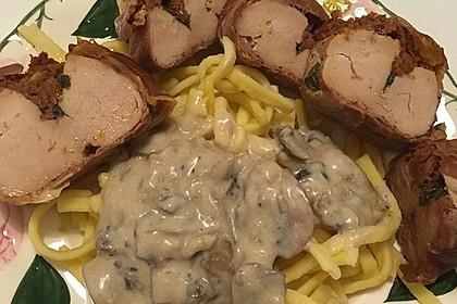 Gefüllte Schweinefilets mit Parmaschinken 56