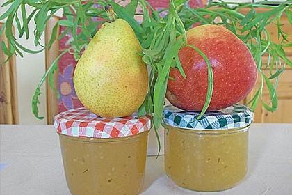 Apfel - Birnen - Marmelade