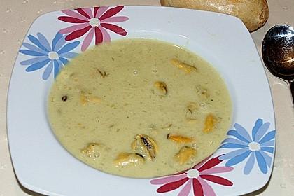 Miesmuscheln in Curry - Weißweinsahne 9