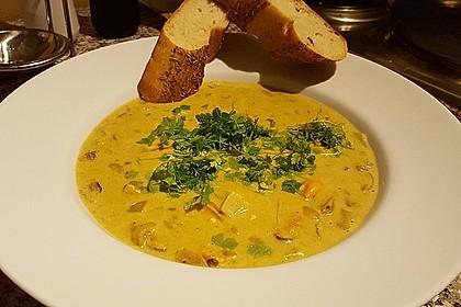 Miesmuscheln in Curry - Weißweinsahne 6
