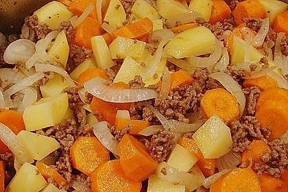 Hackfleisch - Kartoffeltopf 3