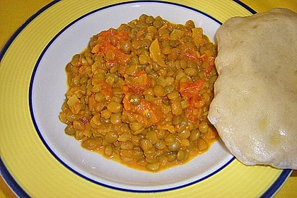 Rote Linsen - Curry 21