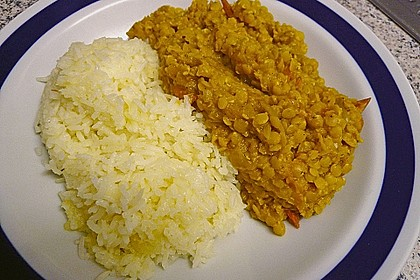 Rote Linsen - Curry 27