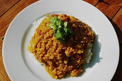 Rote Linsen - Curry 25