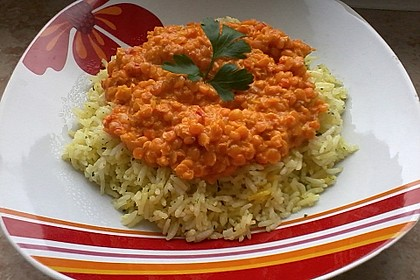 Rote Linsen - Curry 26