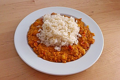 Rote Linsen - Curry 8