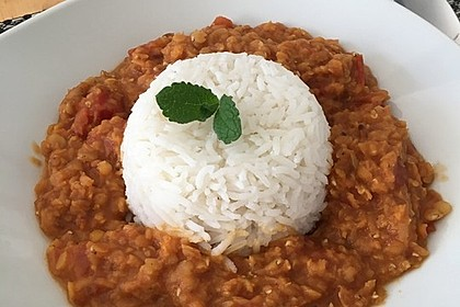 Rote Linsen - Curry 6