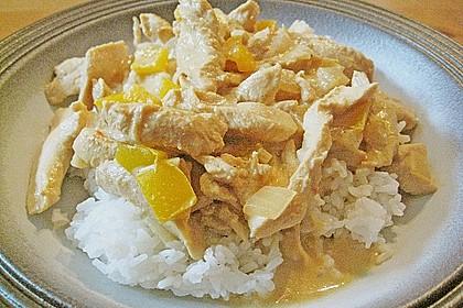 Hähnchen mit Reis 70