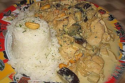 Hähnchen mit Reis 84