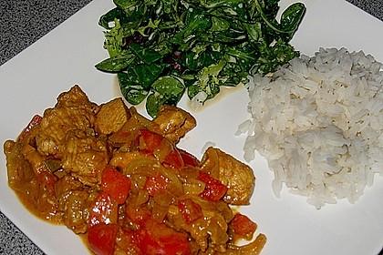 Hähnchen mit Reis 10