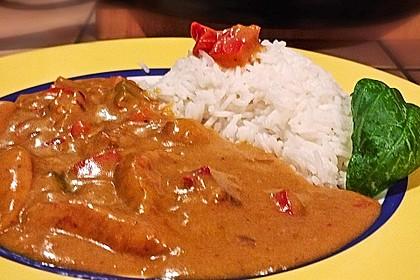 Hähnchen mit Reis 85