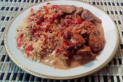 Hähnchen mit Reis 68