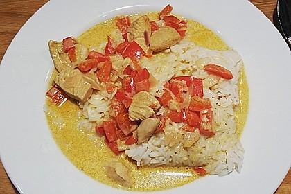 Hähnchen mit Reis 63