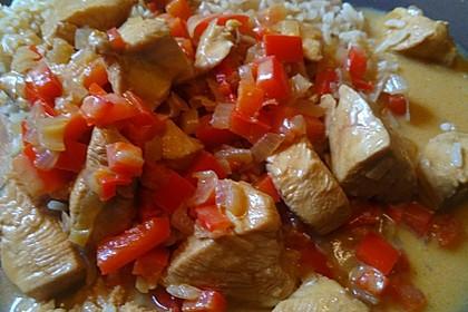 Hähnchen mit Reis 49