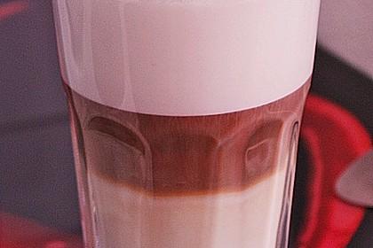Latte macchiato (Bild)